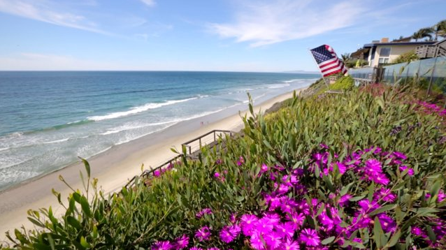 Oceanfront Home With Luxurious Beach Living In Encinitas, CA   Video Sells  Real Estate