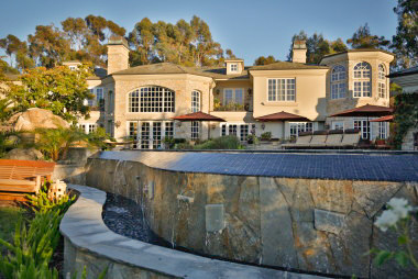 A French Chateau in Del Mar Country Club with Immaculate Living Spaces in Rancho Santa Fe, CA