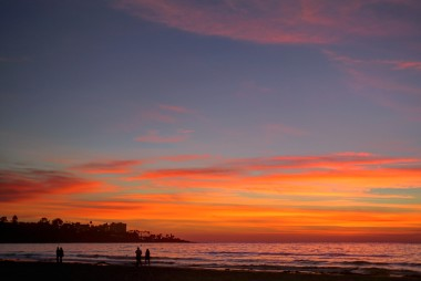 La Jolla Shores Sunset Pic