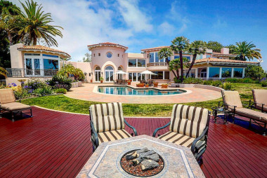 Mediterranean Style Estate in the La Playa Point Loma